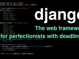 Django - лучший фреймворк для старапов