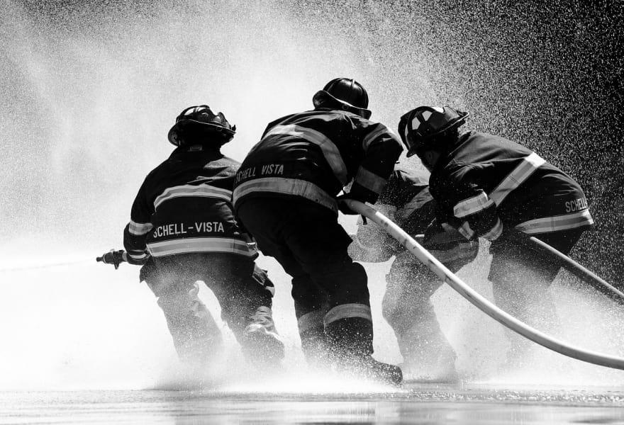 Рабочий процесс в стиле тушения пожаров