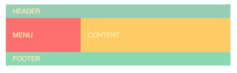 Фиктивный макет веб-сайта