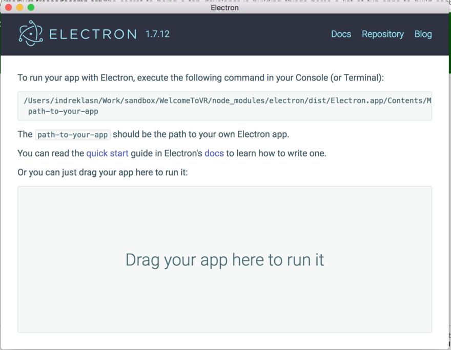 Electron-приложение