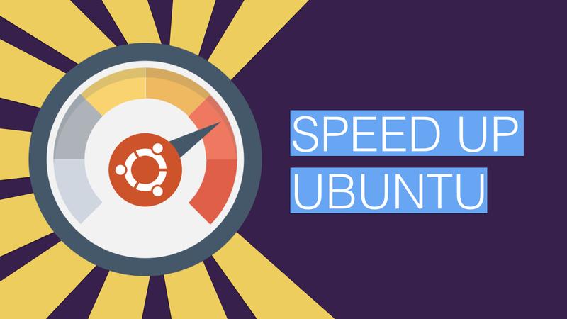 Как ускорить работу Ubuntu