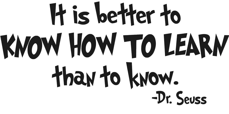 Лучше знать, как учиться, чем просто знать