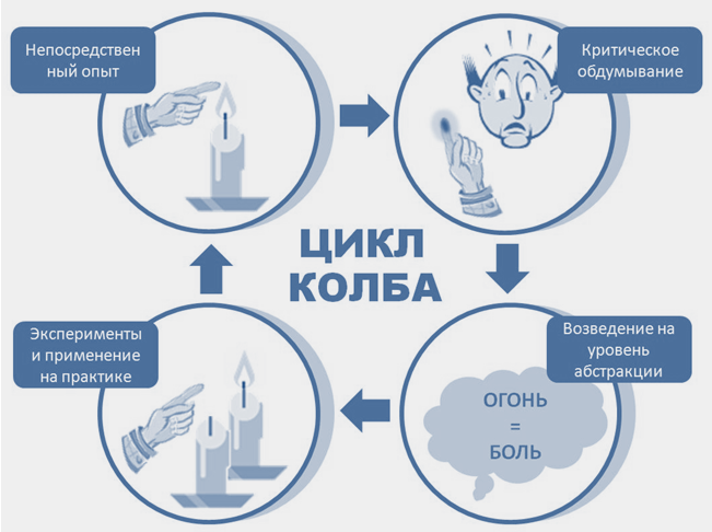 Модель обучения Колба