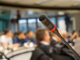 Речь на конференции