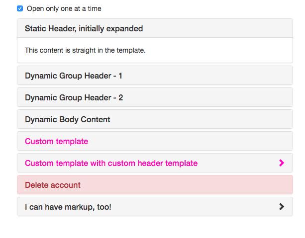 Библиотека AngularJS Bootstrap