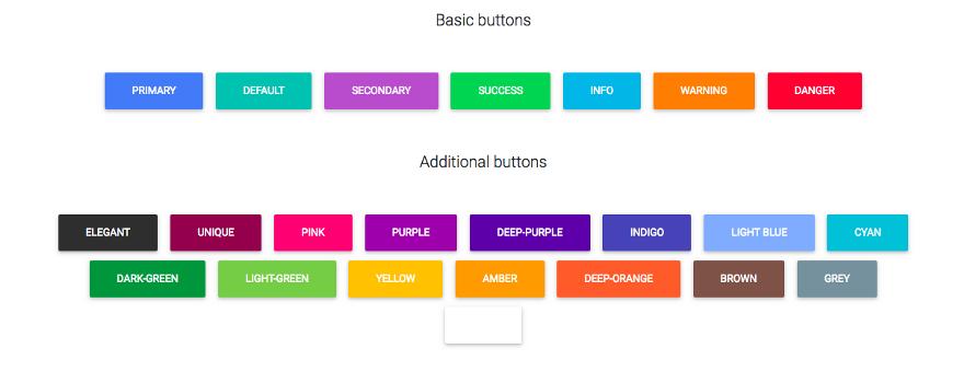 Библиотека Material Design React Bootstrap