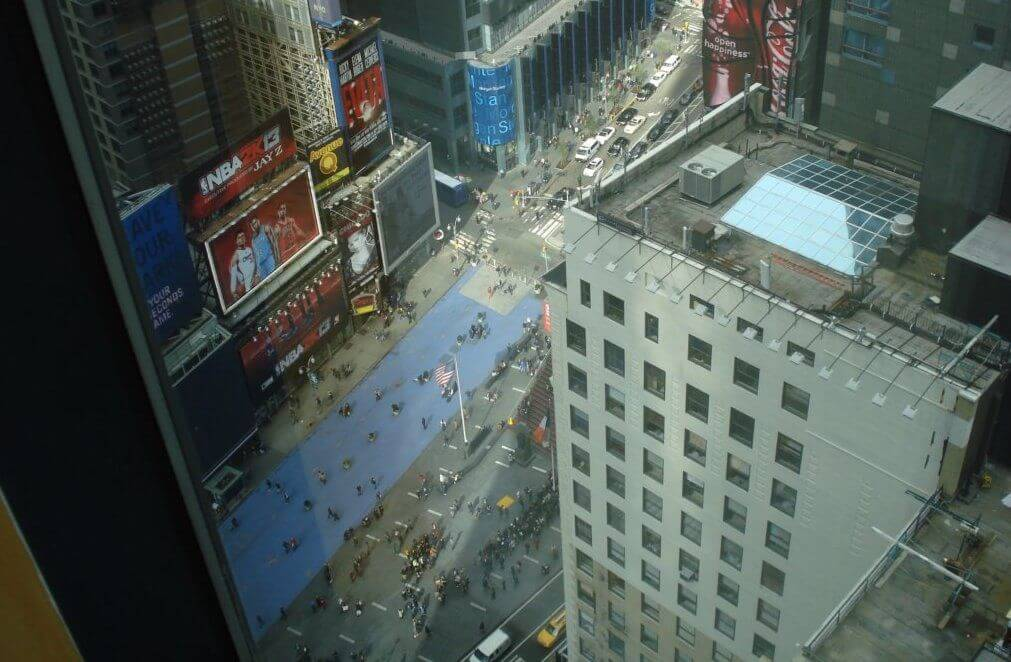 Нью-Йорк. Таймс-сквер. Двадцать седьмой этаж.