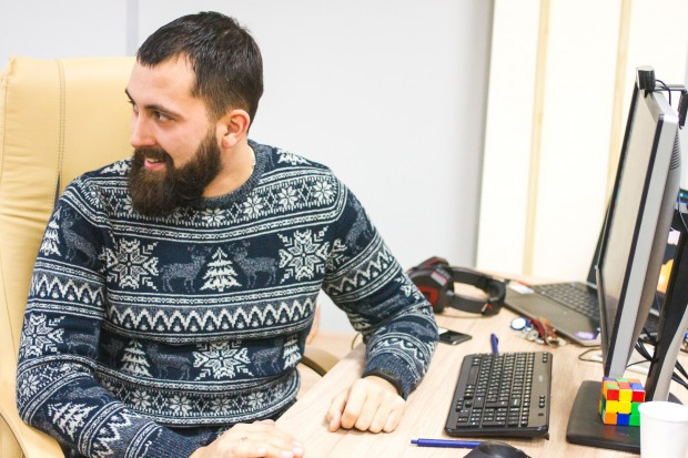 Алексей Картынник - ведущий канала АйТиБорода