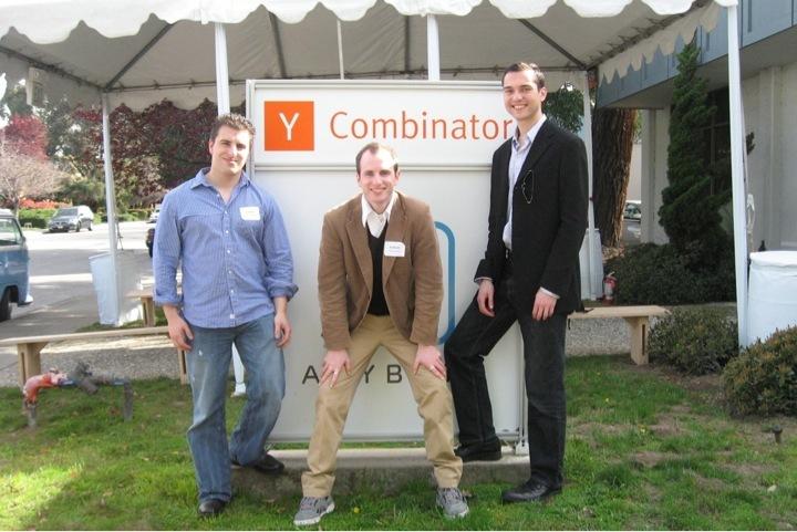 Основатели Airbnb в Y Combinator