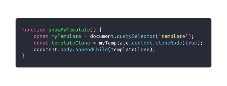Вывод контента с помощью JS