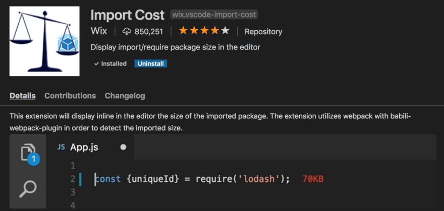 Import Cost