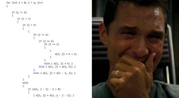 Плохой код