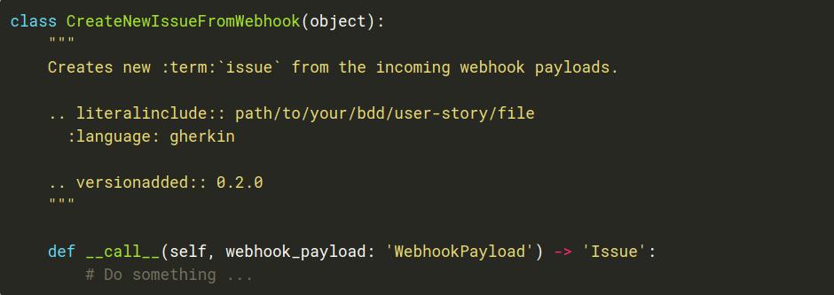 Пример кода на Python