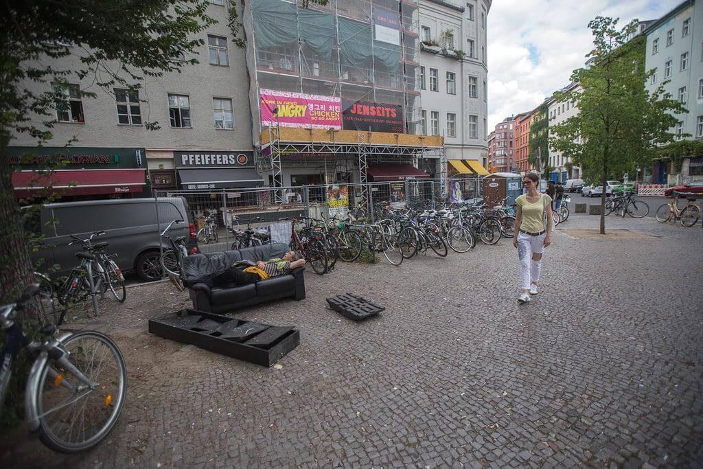 В Западном Берлине, в районе Моабит