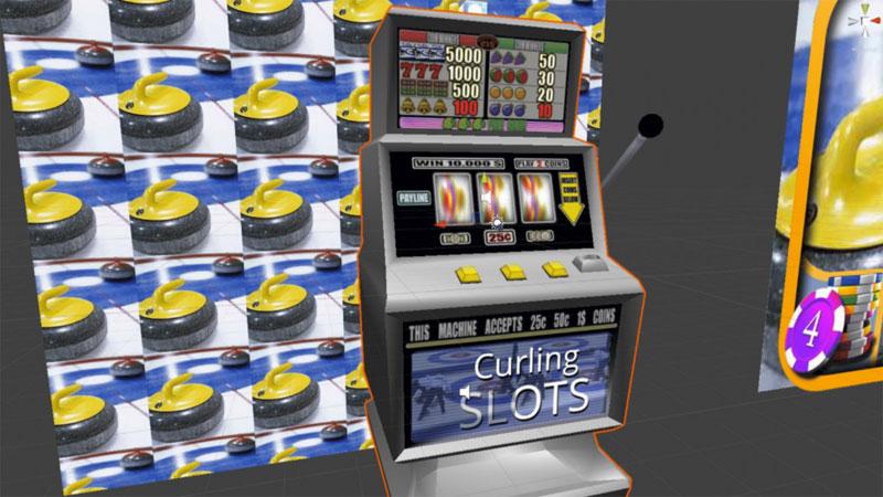 Игровой автомат про керлинг