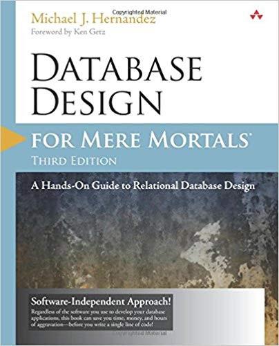 Проектирование баз данных для простых смертных