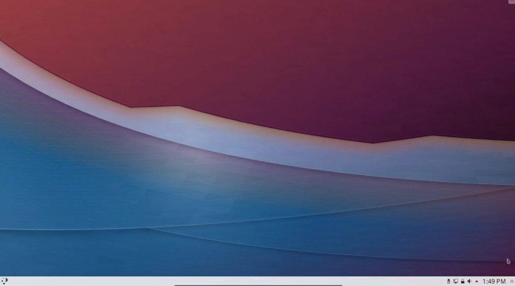 Дистрибутив Arch в версии KDE