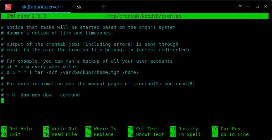 crontab-файл