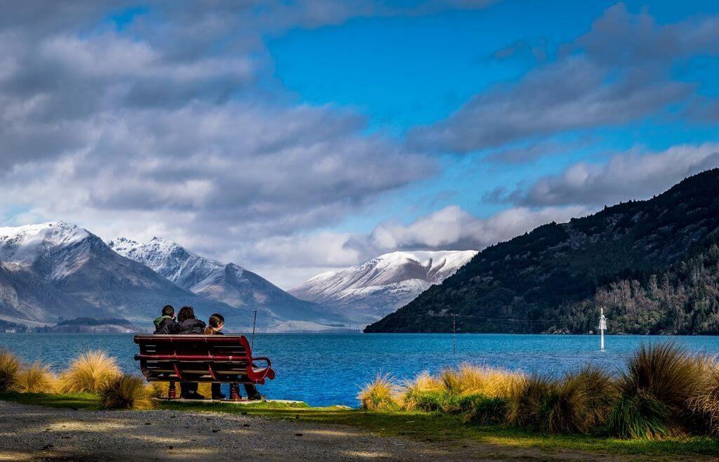 Солнце в Новой Зеландии