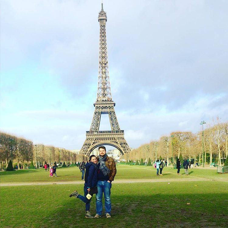 О жизни, работе в Париже