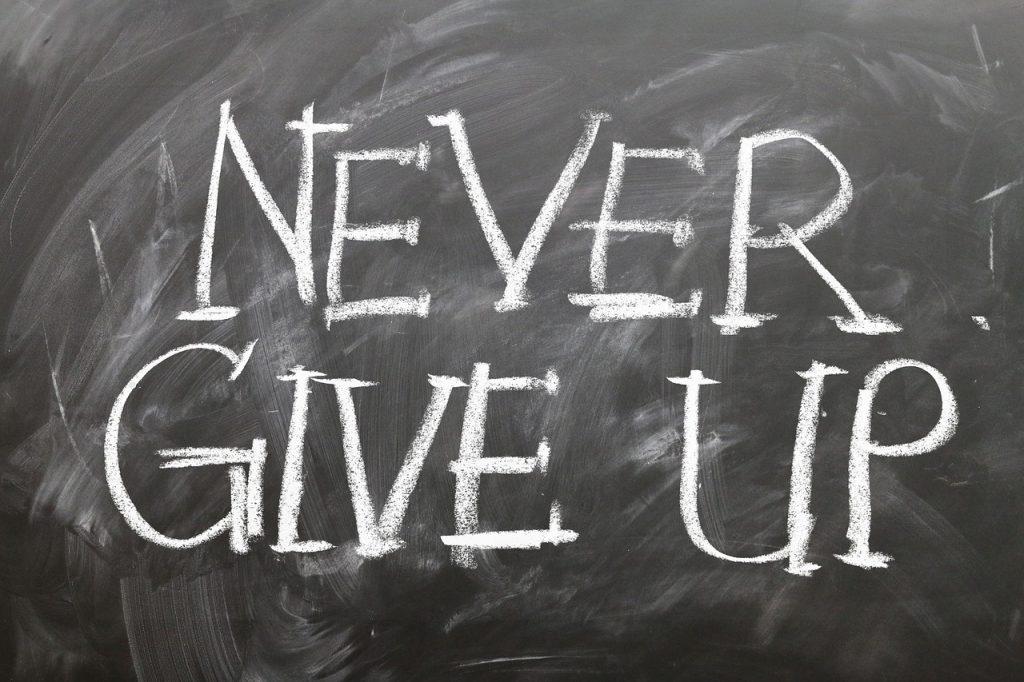 Главное - не сдаваться
