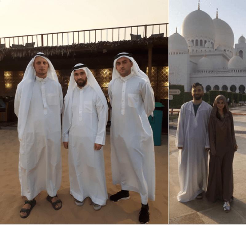 Традиционная одежда в ОАЭ