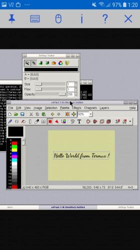 Программы с графическим интерфейсом