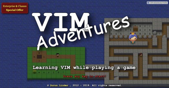 Игра Vim Adventures