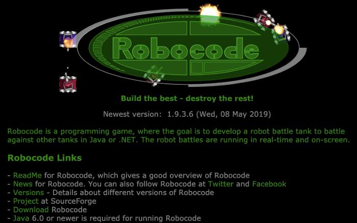 Игра Robocode