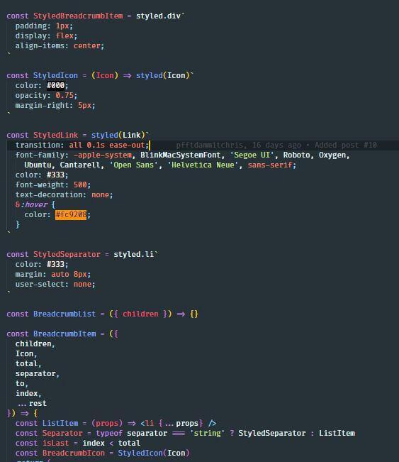 VSCode Material Theme