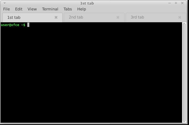 Эмулятор терминала XFCE