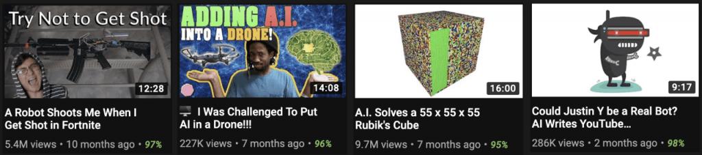 Развлекательные каналы на YouTube