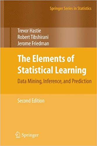 The Elements of Statistical Learning. Data Mining, Inference and Prediction