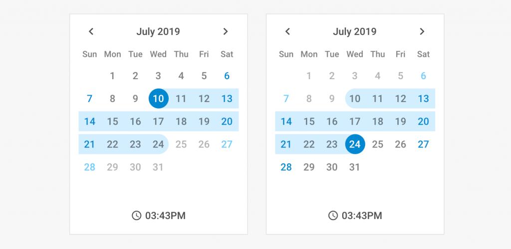 Календарь Dhtmlx