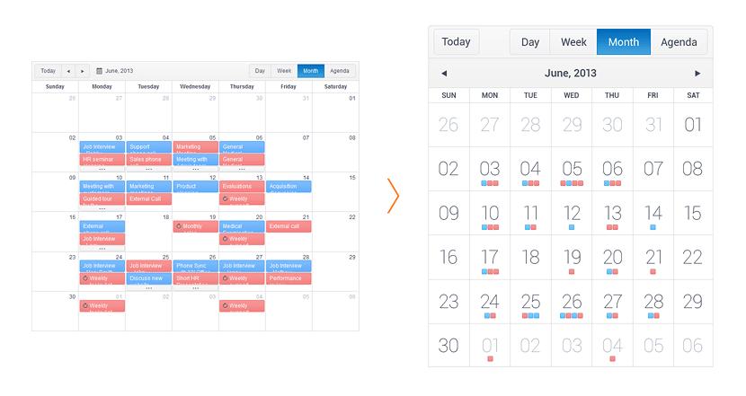 Kendo UI Scheduler