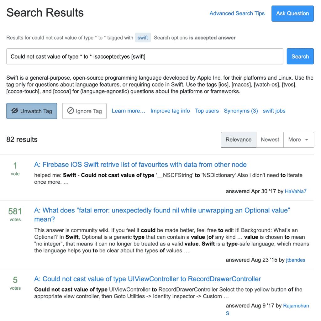 Поиск на самом Stack Overflow.