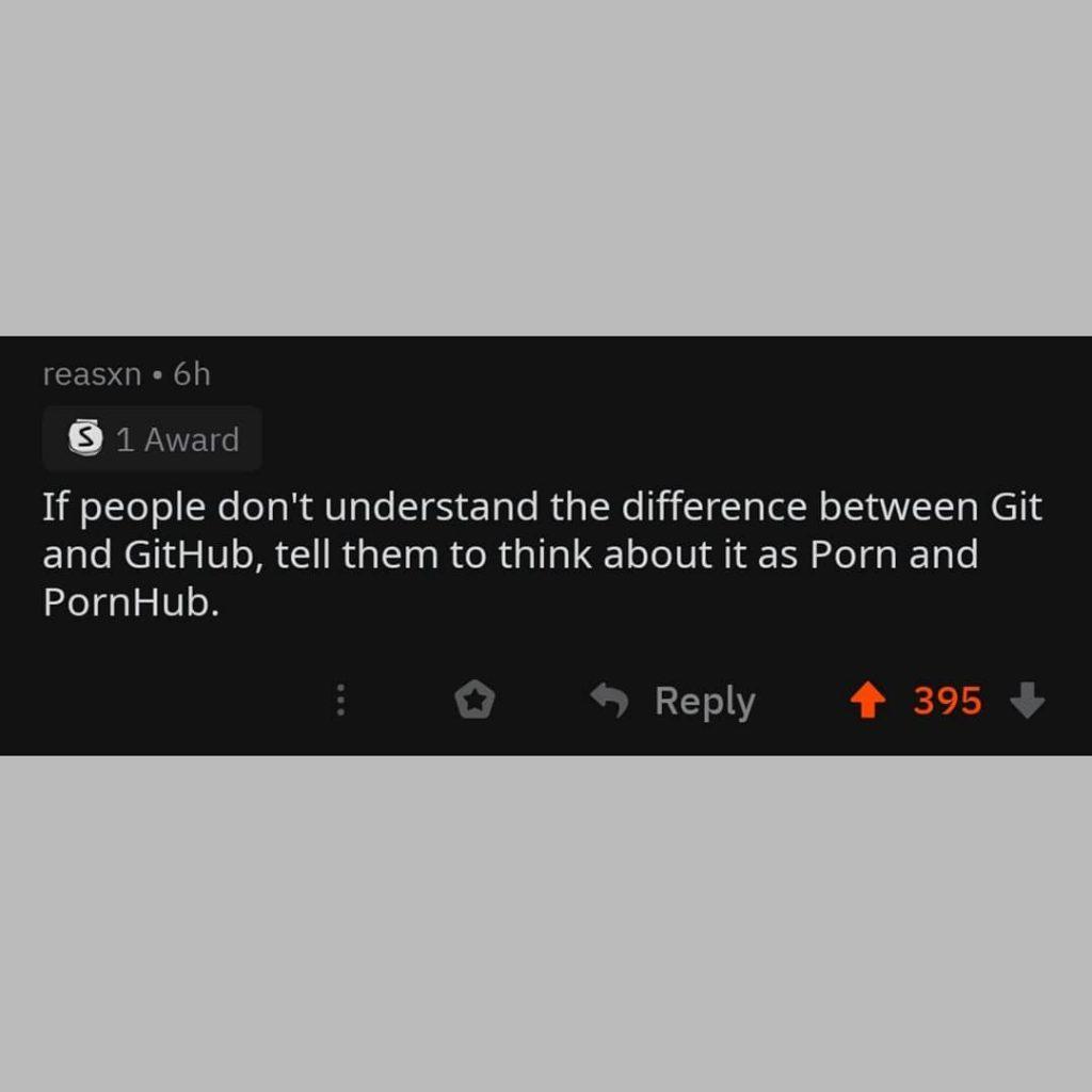 Pornhub and github