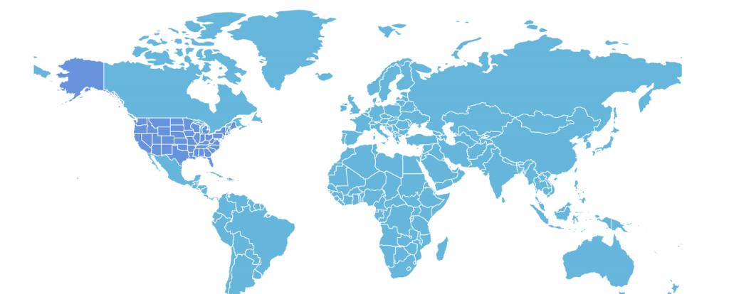 Amcharts - библиотека для создания карт