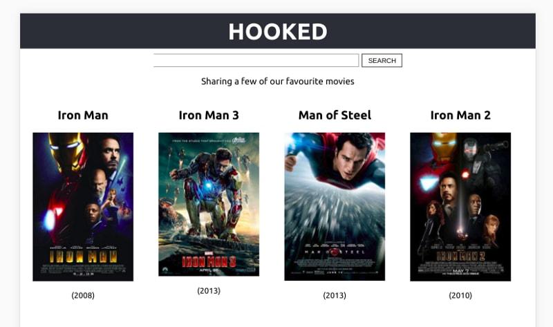 Проект приложение для поиска фильмов