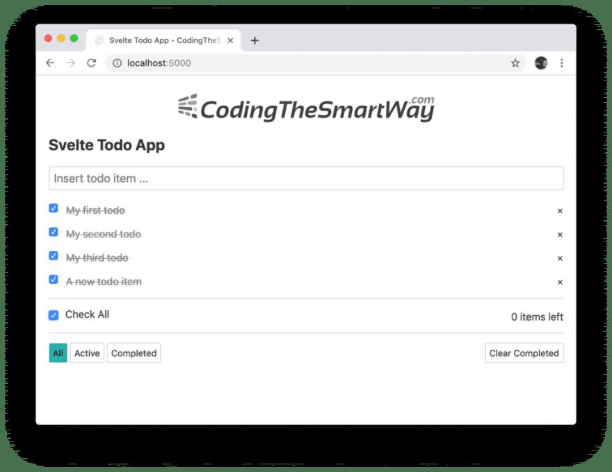 Приложение - список задач
