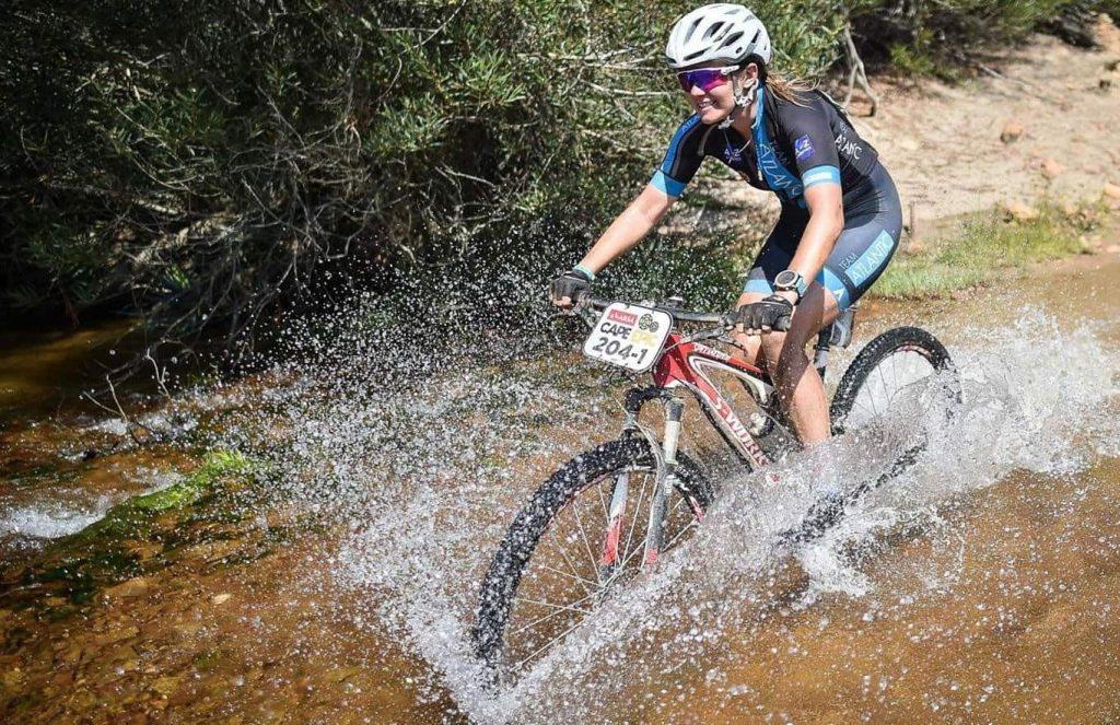 Участие в велогонке в ЮАР