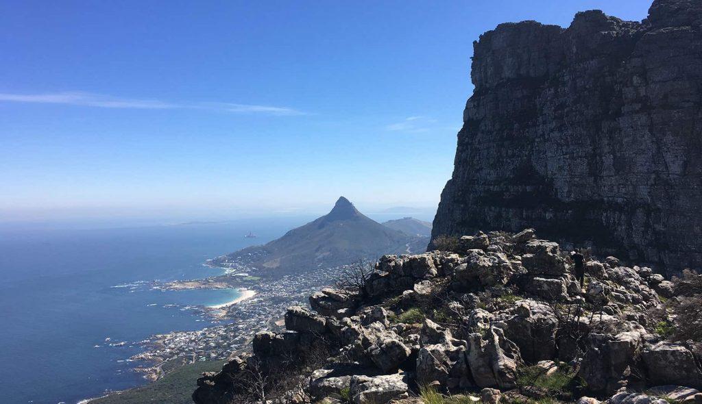 Вид на город и океан в ЮАР