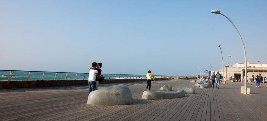 Порт в северном Тель-Авиве
