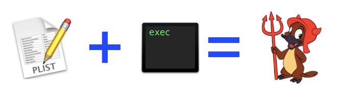 Сам daemon в системе операционных систем *OS представлен конфигом (.plist)