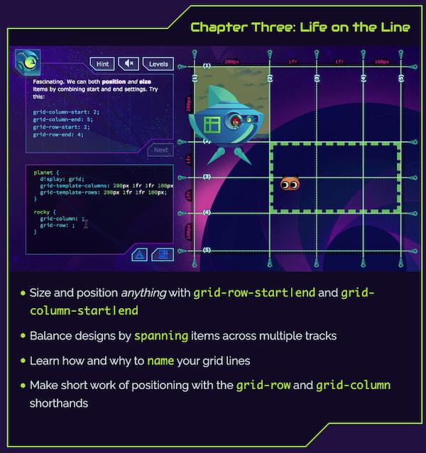 Grid Critters - игра для изучения CSS