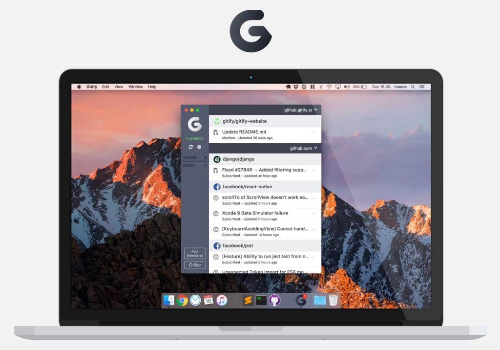 Gitify - приложение для GitHub