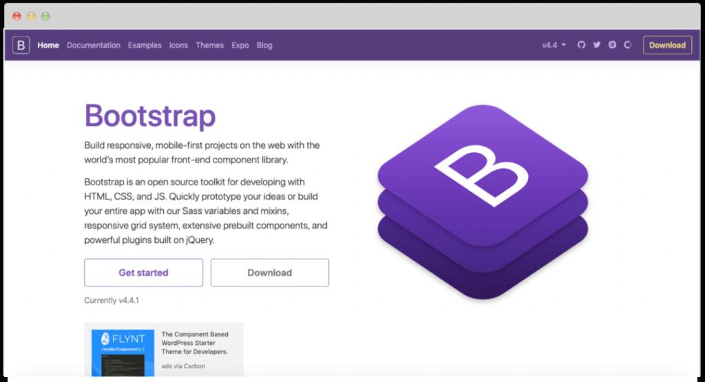 CSS-фреймворк bootstrap