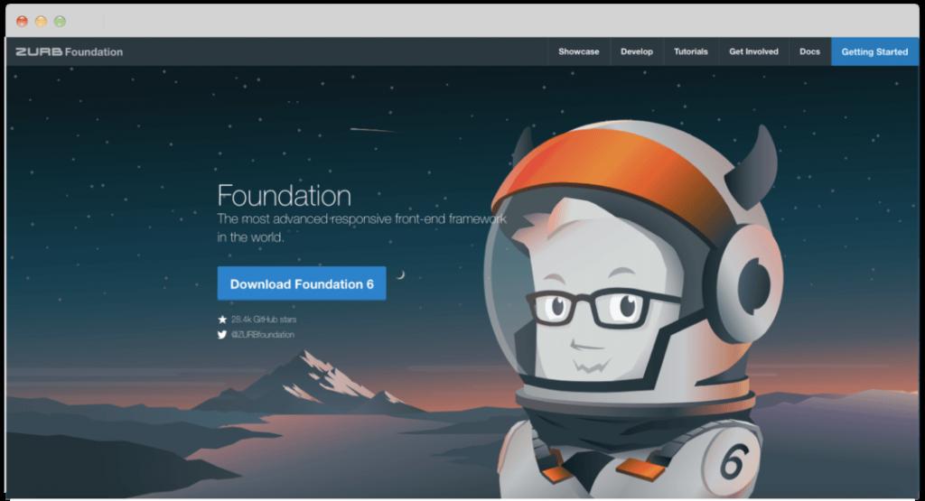 CSS-фреймворк foundation