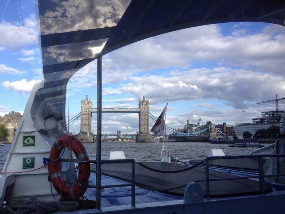 Мой первый день в Лондоне. Поездка по Темзе
