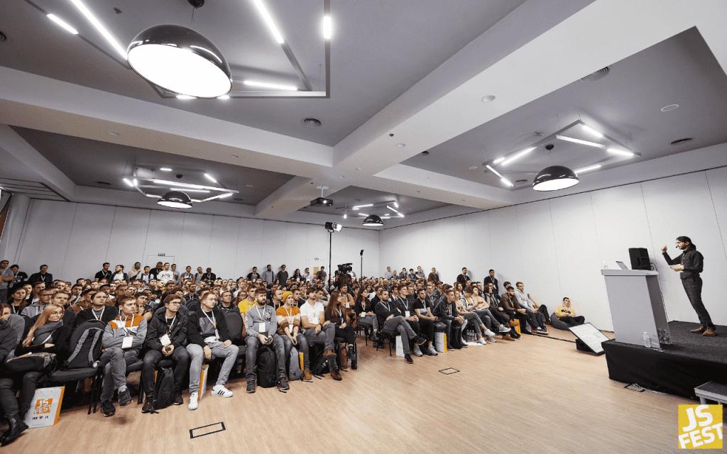 Выступление на JSFest 2019 в Киеве